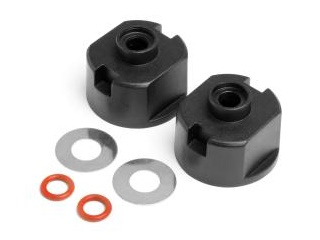 MAVERICK MV22025 Differential Case Seals With Washers 2Pcs ALL Strada and EVO