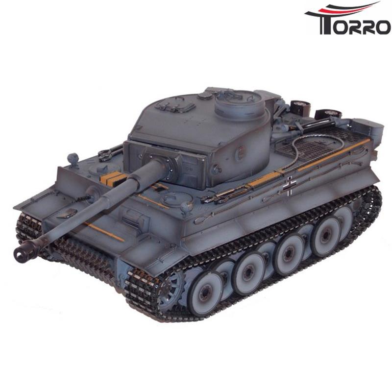 Torro 1/16 RC Tiger 1 German Gray -Early Production Tank BB