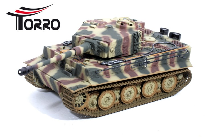 Torro 1/16 RC Tiger 1 Sommertarn - Late Production Tank IR
